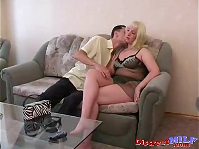 Russian mom and younger Russian lover 10